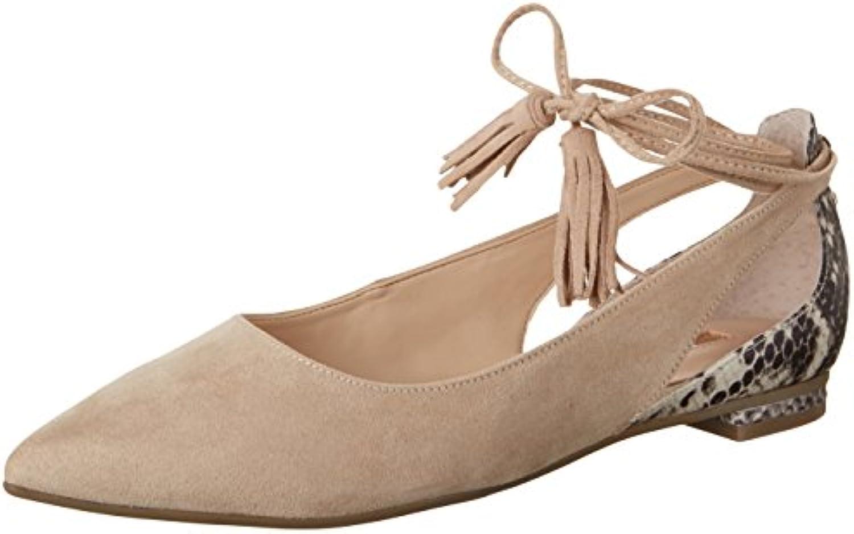 Guess Damen Sevita Ballerinas Elfenbein 2018 Letztes Modell  Mode Schuhe Billig Online-Verkauf
