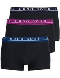 HUGO BOSS Boxershorts 3er Pack schwarz