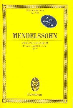 Violinkonzert e-Moll op.64, Partitur