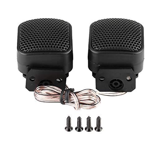 Audio Lautsprecher Audio Hochtöner, 2 stücke Auto Kleine Quadratische Lautsprecher Laute Audio Musik Hochtöner Lautsprecher 500 Watt