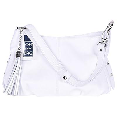 OH MY BAG Sac à Main femmes CUIR italien Sac porté épaule et bandoulère Modèle LOBE Nouvelle collection SOLDES