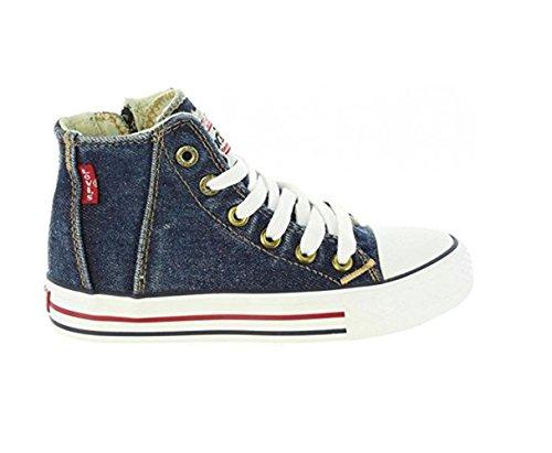 new styles 8250c ee5a3 Scarpe Kids Sneakers LEVI S Original Red Tab HI in Tela BLU VTRU0004T-BL