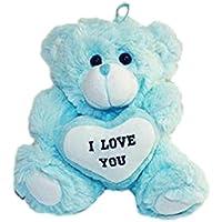HAAC oso de peluche oso de peluche con corazón blanco I Love You 25 ...
