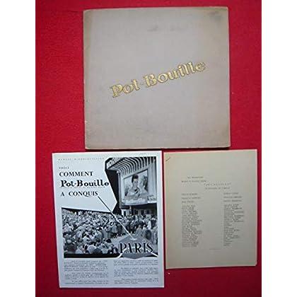 Dossier de presse de Pot-Bouille (1957) – Gérard Philipe - 32x31 cm, 14 p – Film de Julien Duvivier avec Gérard Philipe, Dany Carrel, Danielle Darrieux – Photos N&B - résumé scénario - Bon état.