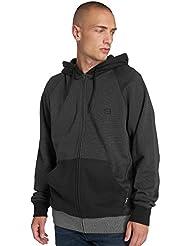 BILLABONG Balance Zip Jersey, Hombre, Negro (Black 19), Large (Tamaño del Fabricante:L)