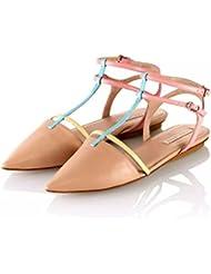 Pura Lopez - Bailarinas para mujer Beige beige
