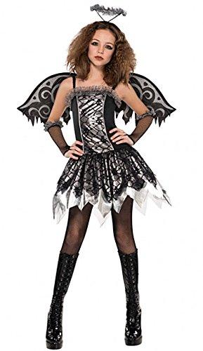 Imagen de disfraz ángel negro adolescente halloween  de 14 a 15 años