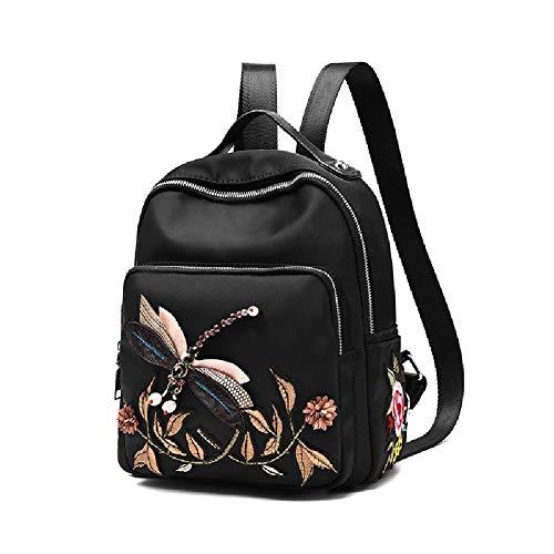 HWYP Frauen Rucksack Schule Schulter PU Leder Daypacks Reisetasche (Frauen Jansport Rucksack)