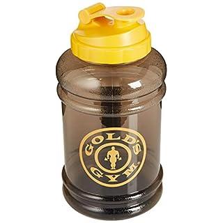 Gold's Gym Unisex Wasserkrug, Schwarz/Gelb, Einheitsgröße