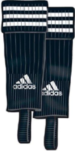 adidas 3-Streifen Stegstutzen schwarz/weiß, 43-45 -