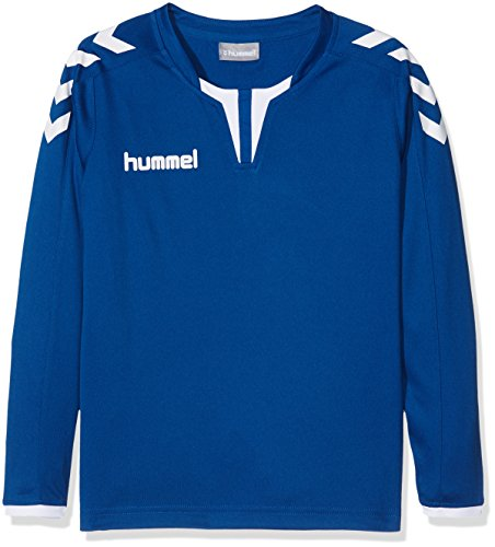 Hummel Jungen Trikot Core Long Sleeve Poly Jersey, True Blue, 140 - 152, 04-615-7045