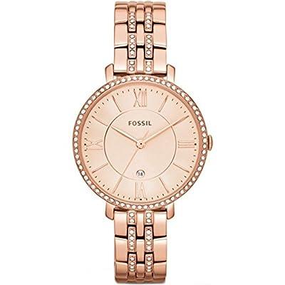 Fossil ES3546 - Reloj de pulsera para Mujer, oro rosa