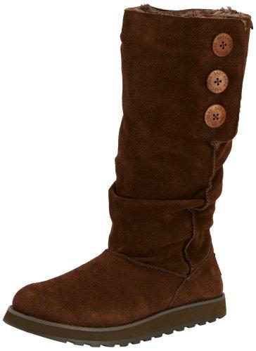 Skechers KeepsakesBrrrr, Damen Langschaft Stiefel, Braun (CHOC), 35 EU (2 Damen - Stiefel Keepsakes Skechers