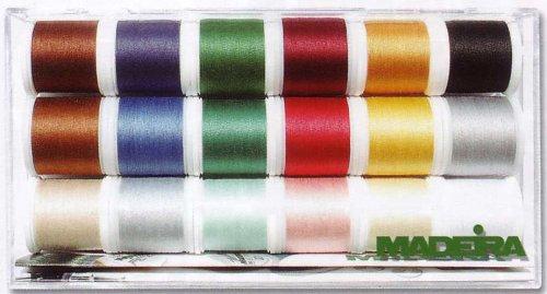 Madeira 8030 Stickbox Cotona No.30 18 Spulen à 200 m