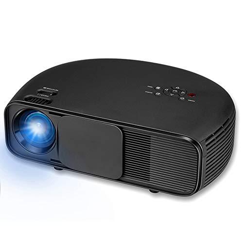 E-kinds HD LCD LED Projektor 3200 Lumen 1080p Videospiele TV-Heimkino-Unterstützung 1080p / USB/AV/HDMI/VGA/DTV-Projektor/Beamer (Ps3 Blueray-objektiv)