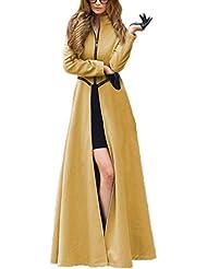 Toyobuy - Sudadera con capucha - Básico - Manga Larga - para mujer