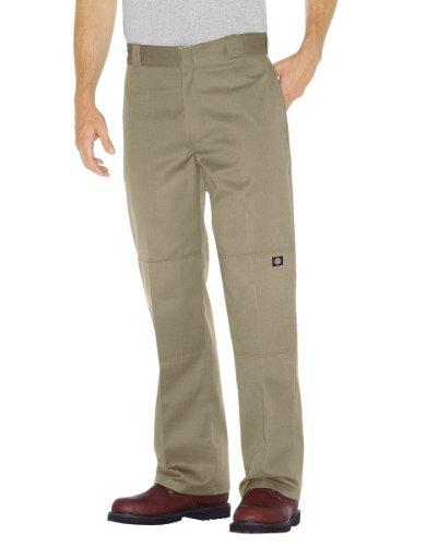 Dickies - - 85-283 Double Knee Work Pant, 32W x 30L, Khaki -