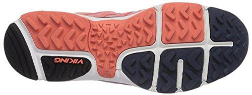 Viking Skog W GTX, Chaussures de Trail Femme Orange - Orange (Coral/Navy 5105)