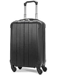 EONO Essentials ABS Maleta Equipaje de Mano Cabina rígida Ligera con 4 Ruedas, 55cm, Aprobado para ryanair, easyjet, Vueling, Iberia, Lufthansa, Eurowings y Muchos Otros