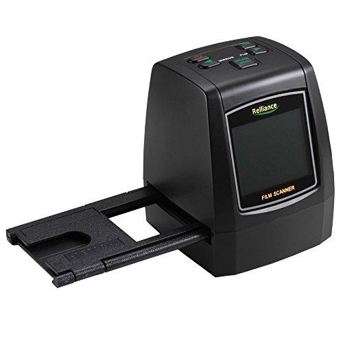 QUMOX Negativo 14MP 22MP 2.4 'escáner de diapositivas de fotos de escáner de película LCD