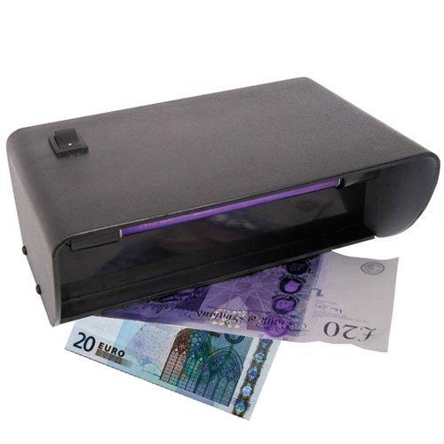 Neu UV Test für Geldscheine Falschgeld Detektor Tester UK Direktstromanschluss Gefälschte Geld