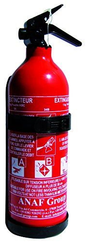 Anaf - Extincteur pressurisé 1 kg à poudre ABC PS1-XN
