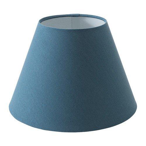 IKEA OLLSTA Lampenschirm in blau; (27cm)