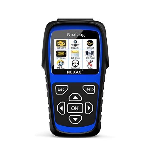 ND601 für BMW Mini OBD2 Diagnose-Scanner Multi-System ABS SRS Airbag Oil Reset DPF Automotive Scan Tool