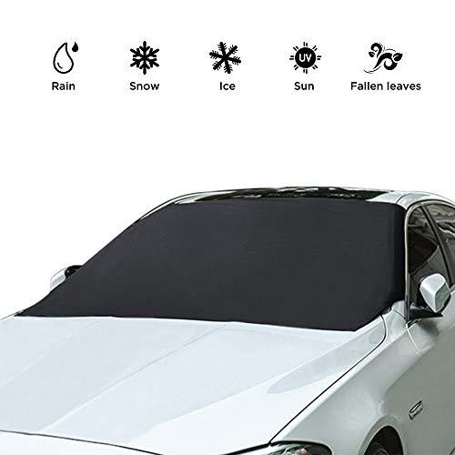 Simpeak protezione per parabrezza, auto anti uv antighiaccio e antigelo neve copertura parasole copri parabrezza per veicoli 210 x 120 cm