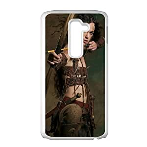 Guinevere King Arthur Movie 1 LG G2 Cell Phone Case White TPU Phone Case SY_804349