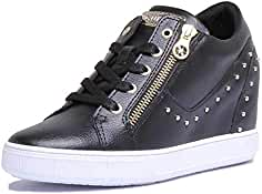 8aa0a960134 GUESS FLNNA1 LEA12 Black Sneakers Mujer