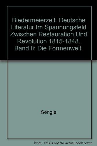 Biedermeierzeit, 3 Bde, Bd.2, Die Formenwelt