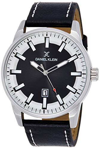 Daniel Klein Analog Black Dial Men's Watch-DK11652-1