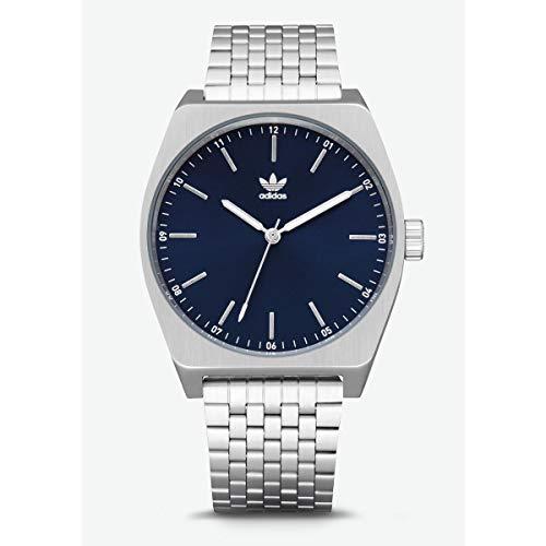 Adidas Hommes Analogique Quartz Montre avec Bracelet en Acier Inoxydable Z02-2928-00