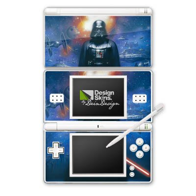 DeinDesign Nintendo DS Lite Case Skin Sticker aus Vinyl-Folie Aufkleber Star Wars Merchandise Fanartikel The Dark Side