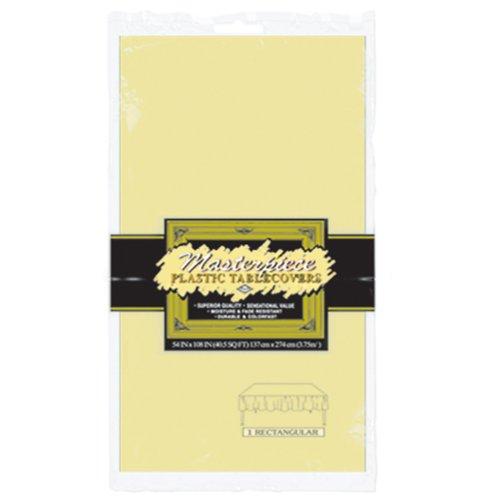 Beistle 50940-Y Supplies Party-Zubehör, plastik, gelb