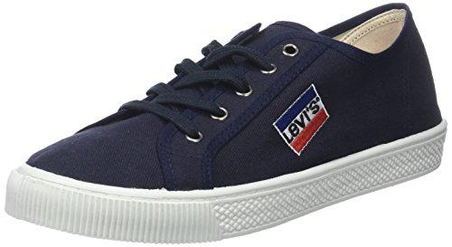 Levi'S Olympic Malibu, Zapatillas para Hombre, Azul (Navy Blue), 41 EU
