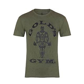 Golds Gym Herren T-Shirt, olivgrün, M
