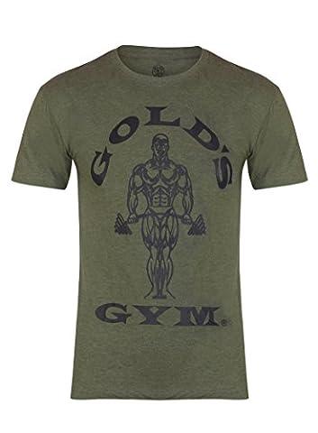 Goldsgym Muscle Joe T-Shirt - Army, Large