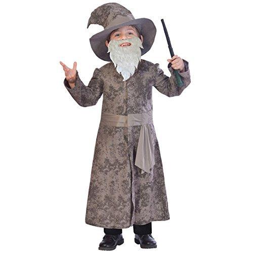 Weiser Zauberer - Gandalf Dumbledore Kostüm Kinder Jungen Amscan