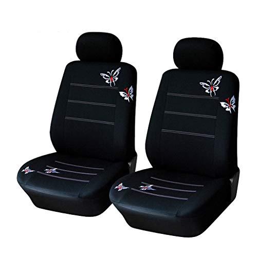 YXLcars Set Coprisedili per Auto | Copri-sedili Auto Universale per Anteriori E Posteriori | Accessori Auto Interno | Materiale in Poliest