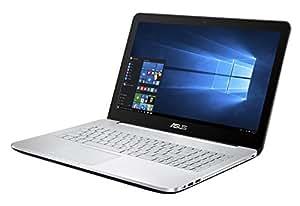 """Asus N552VW-FY136T VivoBook Portatile, 15.6"""" FHD, Intel Core i7-6700HQ, RAM 16 GB, 1 TB HDD, NVIDIA GeForce GTX 960M da 4 GB, Argento"""