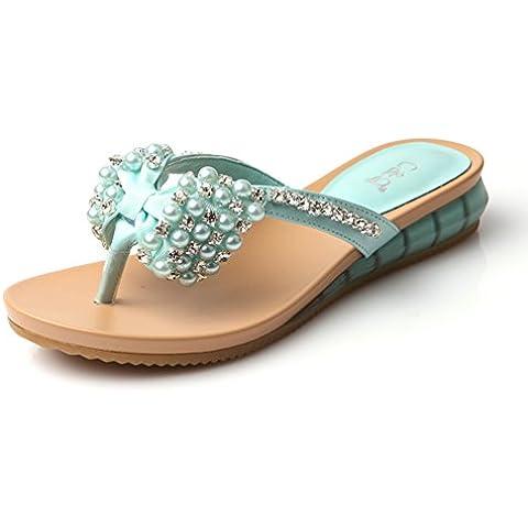 Pantofola di prua di estate stili piattaforma coreano/flops/Sandali e ciabatte/sandali/scarpe