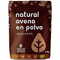 Natural Avena 100% Natural, sin azúcar añadido 1Kg (Chocolate)