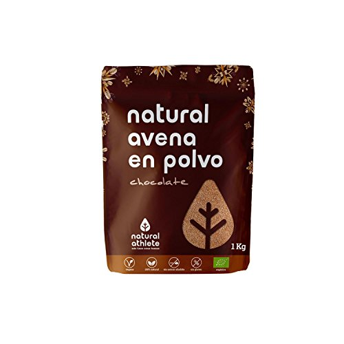 Avena molida sabor chocolate NATURAL ATHLETE (1 kg)