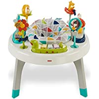 Fisher-Price Centro de actividades 2 en 1, mesa infantil bebé +6 meses (Mattel FVD25)