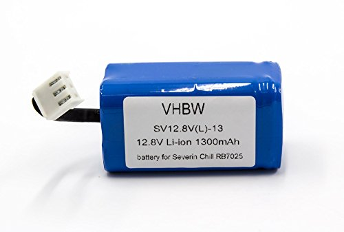 vhbw Li-Ion Akku 1400mAh (12.8V) für Home Cleaner Heimroboter Severin Chill RB-7025, RB7025