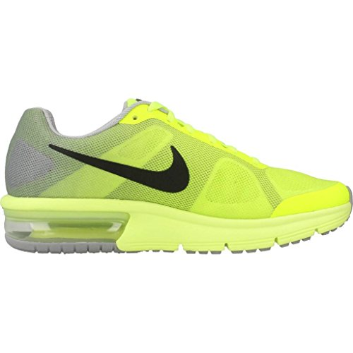 Nike Air Max Sequent (Gs), Scarpe da Corsa Uomo Amarillo (Amarillo (volt/black-wolf grey))