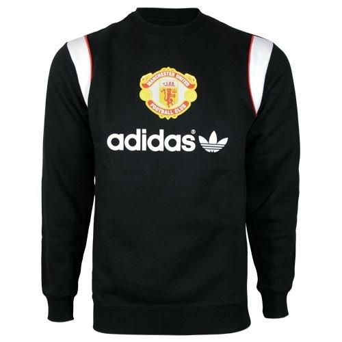 adidas MANUNITED Crew, Größe:XS - Pullover United Manchester