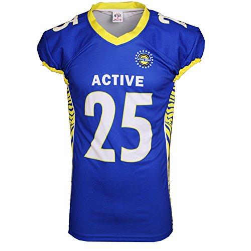 ACTIVE Blu america del football maglia basketball